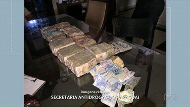 Polícia encontra R$ 400 mil de traficante paraguaio escondidos em sofá - O traficante já havia sido preso em setembro em Cidade do Leste.