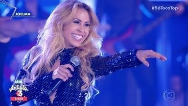 Joelma canta '18 Quilates' - Cantora se apresenta no ranking 'Rádio Artista Brega'
