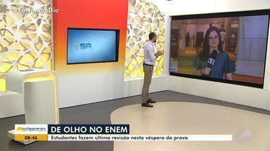Quase 400 mil baianos devem fazer o Enem nesse domingo (4) - As provas serão aplicadas nos dias 4 e 11 de novembro, em todo o Brasil.