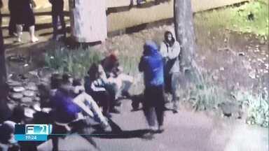Polícia prende quatro acusados de matar jovem na UnB - Eles vão responder por homicídio qualificado. Três deles já têm passagens pela polícia.