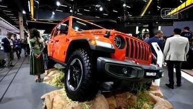 Salão do Automóvel 2018: Jeep apresenta a nova geração do Wrangler - O G1 está acompanhando os principais lançamentos das marcas no Salão do Automóvel 2018.