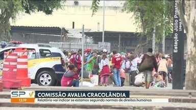 Comissão Interamericana de Direitos Humanos avalia região da Cracolândia - O objetivo é ver as condições da região e dos un isuários de drogas que vivem no local.