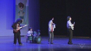 Projeto Destinação Criança faz apresentação no Teatro Municipal - Projeto chega a sua 3ª edição.