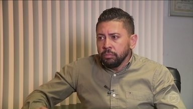 Suspeito de matar jogador Daniel presta depoimento no Paraná - Edison Brittes Júnior está prestando depoimento à Polícia Civil em São José dos Pinhais, região metropolitana de Curitiba.