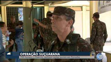 Homens do Exército realizam ações sociais em Parnaíba - Homens do Exército realizam ações sociais em Parnaíba