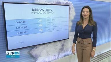 Confira a previsão do tempo para o final de semana na região de Ribeirão Preto - Chuva deve continuar até domingo (11) na maioria das cidades.