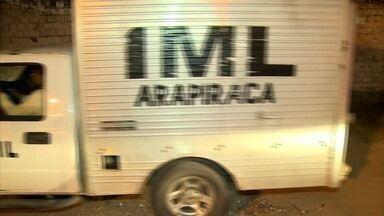 Onze suspeitos de assalto a banco em PE morrem em operação policial em Santana do Ipanema, - Onze suspeitos de assalto a banco em PE morrem em operação policial em Santana do Ipanema, AL.