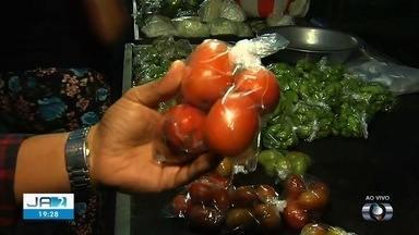 Preço do tomate sobe em Goiânia - Valor do fruto quase quadruplicou nos último dias.