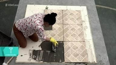 Aprenda a substituir piso antigo por um novo sem fazer obra - Paloma Cipriano dá dicas para renovar a casa sem dor de cabeça nem quebra-quebra