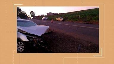 Acidente de trânsito deixa uma pessoa morta e outras três feridas em Três Palmeiras - O acidente aconteceu na madrugada de hoje.