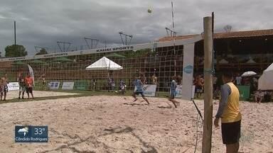 Campeonato de futevôlei agita o fim de semana em Ribeirão Preto - A modalidade praticada nas praias foi criada no Rio de Janeiro, em 1960.