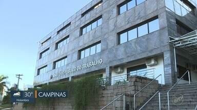 MPT suspende atendimentos para mudança de endereço, em Campinas - Audiências também foram interrompidas. Atividades serão retomadas no dia 3 de dezembro em nova sede.