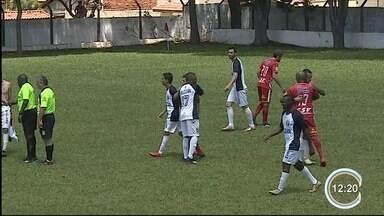 Jogo de futebol amador tem confusão em Taubaté - Na semana anterior, jogo terminou com um torcedor baleado.