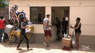 Milhares de candidatos fizeram o segundo dia de provas do Enem no Maranhão - O exame concluiu a edição deste ano com as provas de matemática e ciências da natureza.