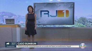 RJ1 - Edição de segunda-feira, 12/11/2018 - O telejornal, apresentado por Mariana Gross, exibe as principais notícias do Rio, com prestação de serviço e previsão do tempo.