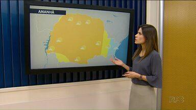 Semana começa com tempo seco na região de Maringá - Não há previsão de chuva para essa terça-feira.
