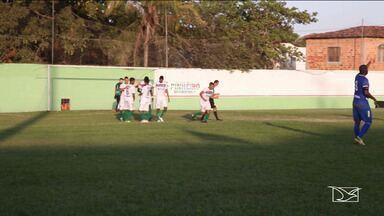 Com três gols de Diego, Pinheiro goleia o Bacabal - PAC estreia com goleada na Copa FMF