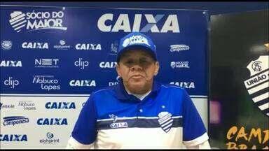 Jacozinho falou sobre o futebol jogado antigamente e do projeto do CSA até a Série A - O ídolo da torcida azulina, Jacozinho, falou um pouco sobre esse momento do CSA
