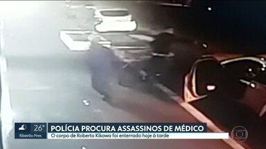 Médico é morto no Bairro do Ipiranga - Polícia tenta identificar os dois assassinos que fugiram de carro