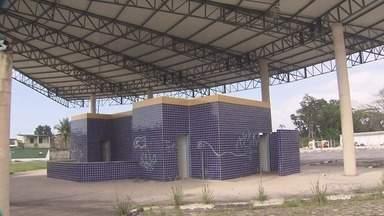 Prefeitura propõe nova estrutura para rodoviária abandona de Bertioga, SP - UPA tornou-se base do Samu.