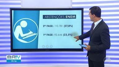 Bahia teve 28% de abstenção de estudantes durante a segunda prova do Enem - A liminar permite que apenas neste período as empresas decidam se irão funcionar ou não.