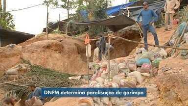DNPM determina suspensão e fechamento de garimpo em Aripuanã - DNPM determina suspensão e fechamento de garimpo em Aripuanã.