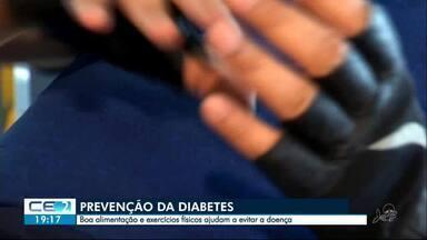 Boa alimentação ajuda a prevenir a diabetes; veja dicas - Confira mais notícias em g1.globo.com/ce