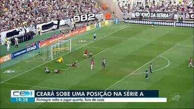 Ceará empata com o Internacional na Série A e sobe uma posição - Confira mais notícias em g1.globo.com/ce