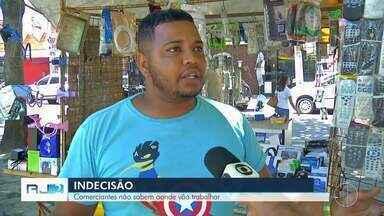 Comerciantes temem perder ponto de venda em Cabo Frio, no RJ - Assista a seguir.