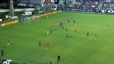 Paraná perde em casa para o Atlético Mineiro - Time tricolor já está rebaixado para a segunda divisão do Campeonato Brasileiro.