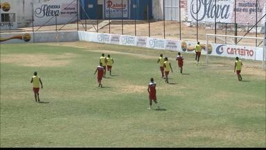 Esporte-P faz últimos ajustes antes da final da 2ª divisão do Paraibano - Time de Patos joga contra a Perilima nesta quarta-feira