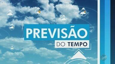 Região de Campinas pode ter pancadas de chuva nesta sexta-feira (16) - Centro de Pesquisas Meteorológicas da Unicamp (Cepagri) prevê temperatura máxima de 33º C.