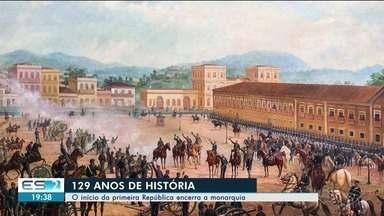 Historiador explica o sentido da Proclamação da República - O início da primeira República encerra a monarquia .