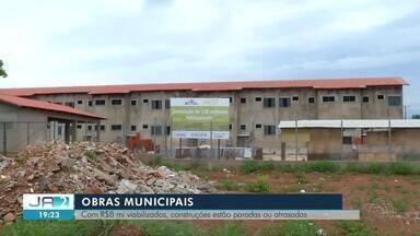 Relatório mostra atraso na entrega de obras públicas em Palmas - Relatório mostra atraso na entrega de obras públicas em Palmas