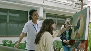 Adriano e Lívia vão até o hospital - Miriam não reconhece os dois