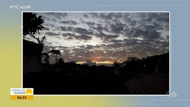 Amanhecer: veja as imagens enviadas pelos telespectadores do JM - Registros foram feitos em cidades como Campo Formoso e Uruçuca.