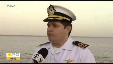 Marinha comemora dia nacional da Amazônia Azul em todo territótio nacional - Amazônia Azul.