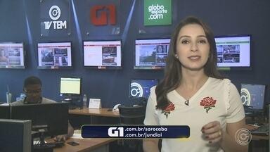 Mayara Corrêa traz os destaques do G1 Sorocaba e Jundiaí desta sexta-feira - Confira os destaques do G1 Sorocaba e Jundiaí (SP) desta sexta-feira (16) com a repórter Mayara Corrêa.