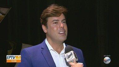 Confira as dicas do 'Em Cena' para curtir o fim de semana - O cantor Márcio Gomes é um dos destaques na programação.