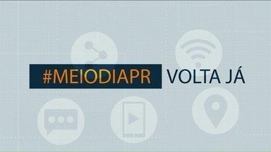 Telespectadores chamam o intervalo do Meio-Dia Paraná - Crianças e adultos participam do jornal nesta sexta-feira.