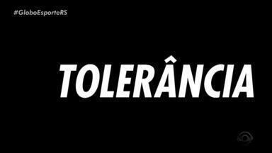 Globo Esporte RS faz 'pedido especial' no Dia Internacional da tolerância - Confira o vídeo.