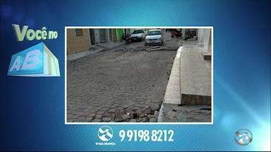 Você no ABTV mostra problemas em Arcoverde - Moradores reclamam de buracos.