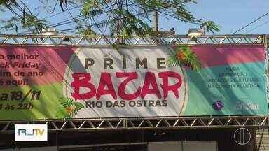 Feira reúne mais de 30 lojistas em Rio das Ostras, no RJ - Assista a seguir.