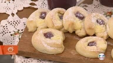 Aprenda a fazer pão doce recheado - Receita é ideal para o café da manhã