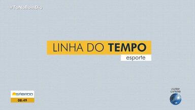 Linha do Tempo: saiba como foi a semana dos times baianos no Campeonato Brasileiro - Confira as noticias do esporte baiano.