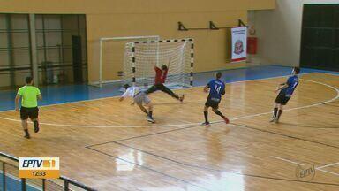 Time de handebol de Araraquara estreia com vitória nos Jogos Abertos - Morado do Sul venceu time de Álvares Machado por 29 a 18.