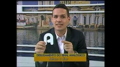 Faltam 08 dias para o desligamento do sinal analógico de televisão na região - Em Rio Grande e em São José do Norte, desligamento acontece no dia 28 de novembro. Saiba como tirar as dúvidas e mudar para o sinal digital.