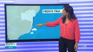 Previsão do tempo: frente fria deve trazer chuva para Salvador e sul da Bahia - Até sexta-feira (23), pode chover de forma localizada na capital baiana.