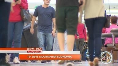 Pagamento do 13°anima comerciantes em São José - Primeira parcela deve ser paga até o dia 30 de novembro.