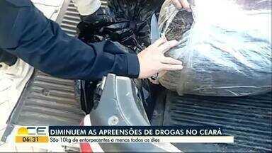 Apreensões de drogas diminuem no Ceará, segundo Governo do Estado - Ainda assim cerca de dez quilos de entorpecentes são retirados das ruas diariamente.